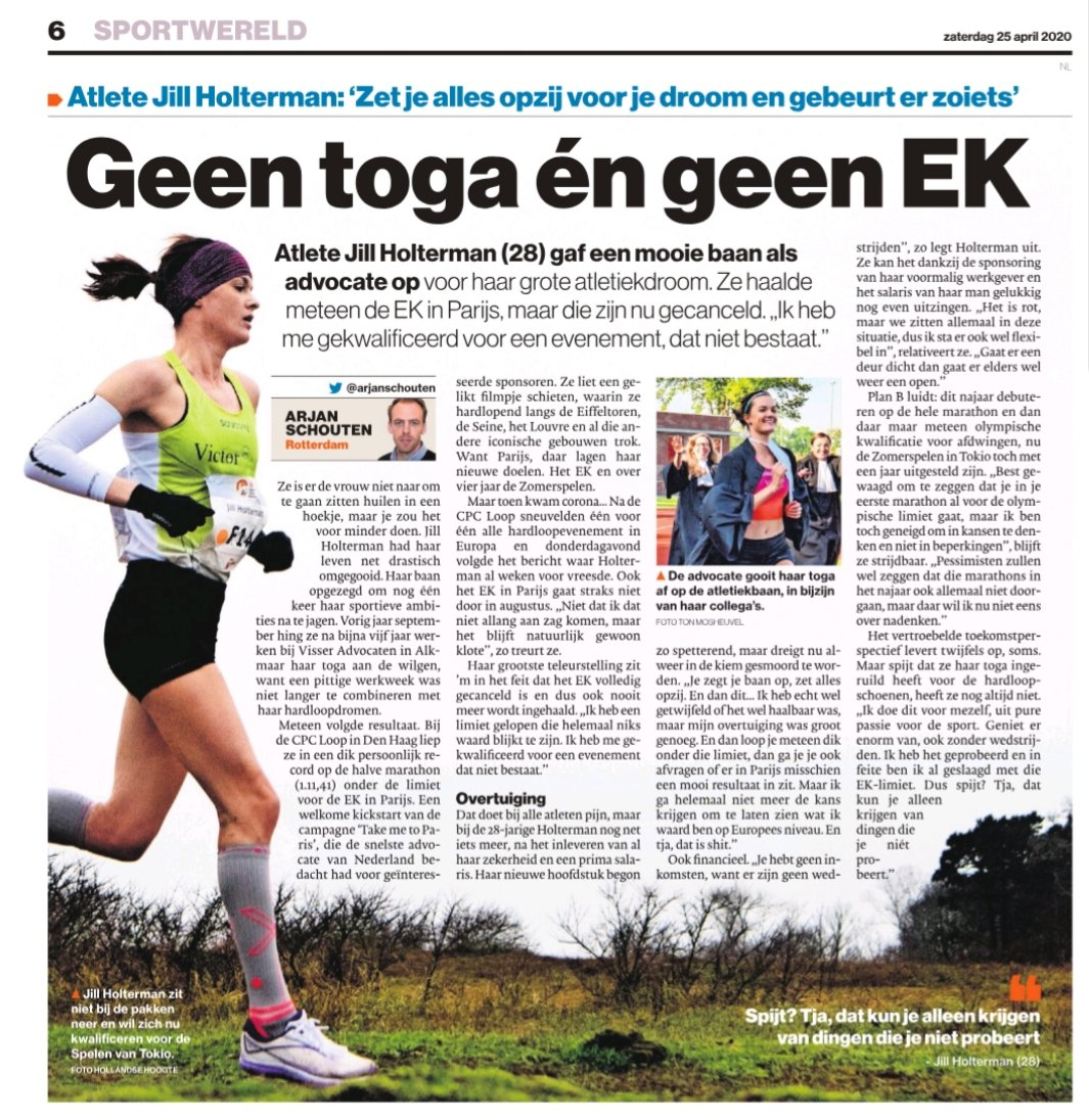 Geen toga én geen EK – Algemeen Dagblad